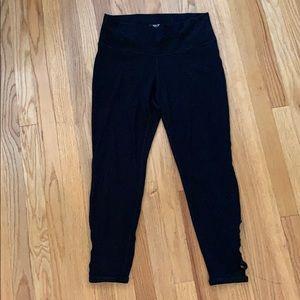 "Old Navy size L ""Go Dry"" yoga pant. Black"